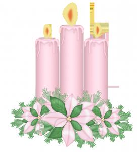 В ожидании любимого зажжены свечи.