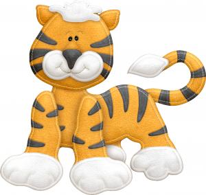 Клипарт плюшевый тигр