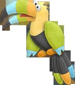 Клипарт попугай