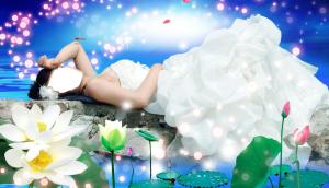Женские шаблоны и костюмы для фотошопа - 08. Костюм для фотомонтажа - Невеста