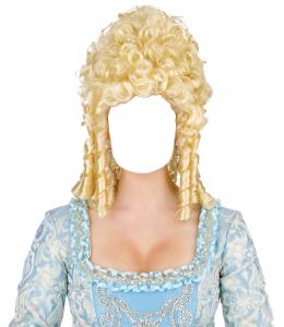 Женские шаблоны и костюмы для фотошопа - 10. Образ придворной дамы