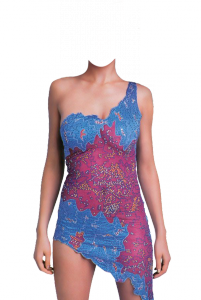 Женские шаблоны и костюмы для фотошопа - 108. Классное маленькое платье