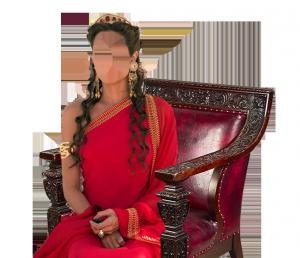 Женские шаблоны и костюмы для фотошопа - 267. Прекрасная представительница Востока в национальном одеянии