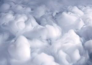 Фон для фотошопа - 116. Кучевые облака причудливых форм