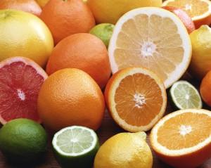 Фон для фотошопа - 166. Грейпфрут, лимон, апельсин, лайм – цитрусовая свежесть.