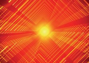 Фон для фотошопа - 177. Красная гамма. Свечение огненного шара, словно ядро земли.