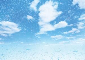 Фон для фотошопа - 337. Голубое небо.