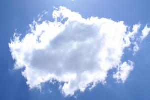 Фон для фотошопа - 50. Дождевая туча на небе.