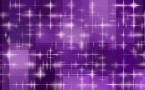 Фон для фотошопа - 35. Фиолетовые искры. Мерцание звезд.