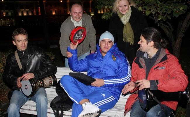 Moscow never sleep…